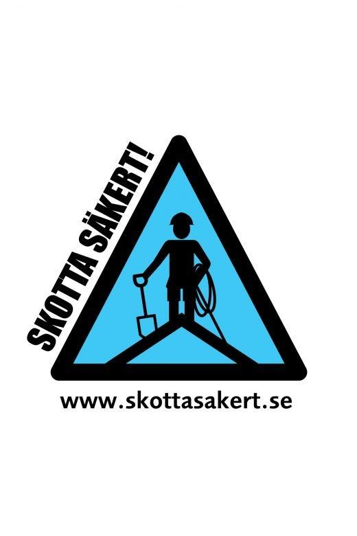 Vintertid innebär ofta Takskottning och då även Skotta Säkert-licens